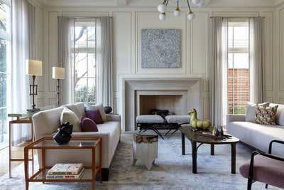 Modern Living Room. Dallas Residence by Damon Liss Design.