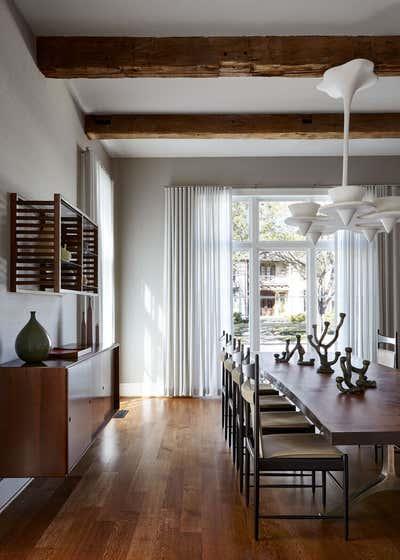 Modern Dining Room. Dallas Residence by Damon Liss Design.