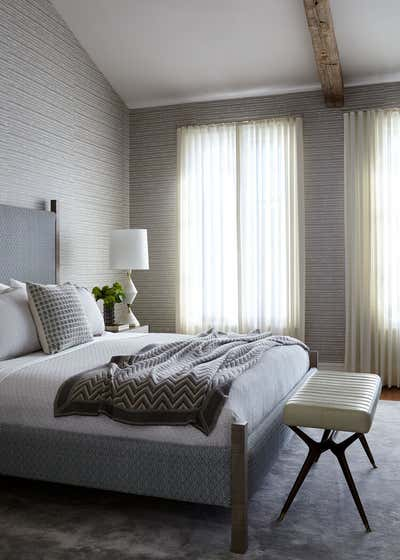 Modern Bedroom. Dallas Residence by Damon Liss Design.