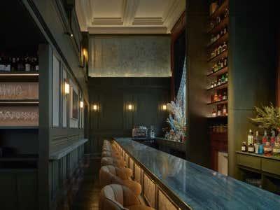 Restaurant Bar and Game Room. Grand Banks by Chris Shao Studio LLC.