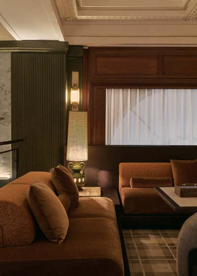 Restaurant Living Room. Grand Banks by Chris Shao Studio LLC.