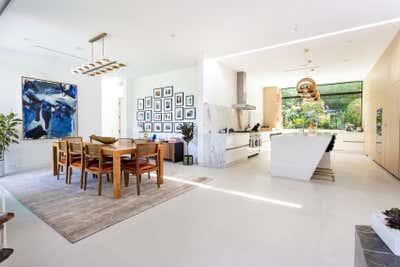 Minimalist Open Plan. Hollywood Hills Residence by Olivia Jane Design & Interiors.