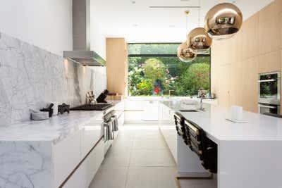 Minimalist Kitchen. Hollywood Hills Residence by Olivia Jane Design & Interiors.