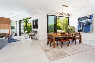 Minimalist Dining Room. Hollywood Hills Residence by Olivia Jane Design & Interiors.