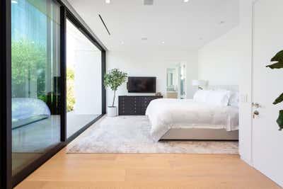 Minimalist Bedroom. Hollywood Hills Residence by Olivia Jane Design & Interiors.