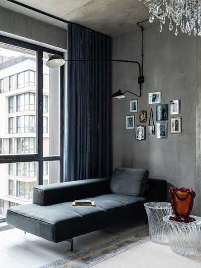 Eclectic Living Room. Girls Only by Valeriya Razumova.