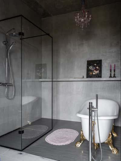 Eclectic Bathroom. Girls Only by Valeriya Razumova.