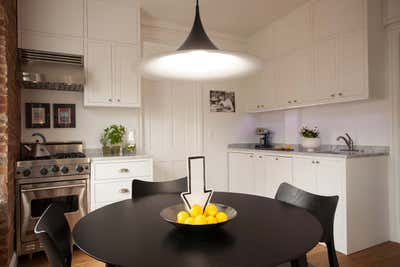 Contemporary Kitchen. Marco's Apartment by Sergio Mannino Studio.