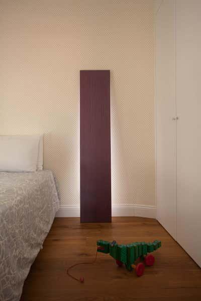 Contemporary Bedroom. Marco's Apartment by Sergio Mannino Studio.