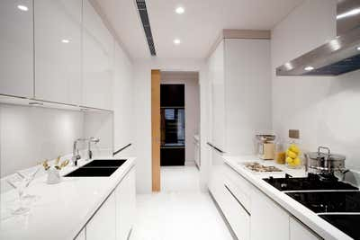 Contemporary Kitchen. Classic Apartment by Sergio Mannino Studio.