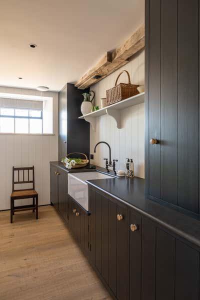 Country Pantry. Dorset Barns by Samantha Todhunter Design Ltd..