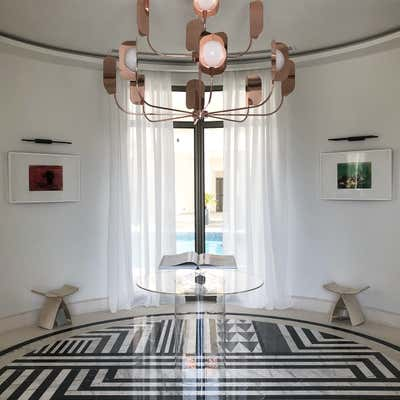 Art Deco Lobby and Reception. THE MODERN CLASSIC  by Nebras Aljoaib Design.