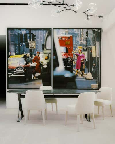 Bachelor Pad Dining Room. Regent's Park Loft by Originate Architects.