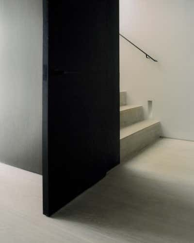 Bachelor Pad Entry and Hall. Regent's Park Loft by Originate Architects.