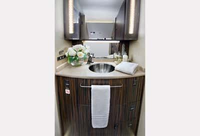Transportation Bathroom. Aviation  by Sofia Joelsson Design Studio.