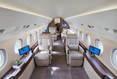 Transportation Living Room. Aviation  by Sofia Joelsson Design Studio.
