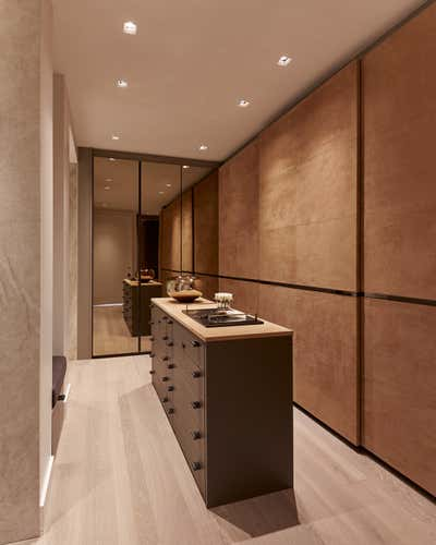 Modern Storage Room and Closet. Great Jones Penthouse  by Sofia Joelsson Design Studio.
