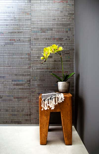 Bachelor Pad Bathroom. West Hollywood  by Peti Lau Inc.