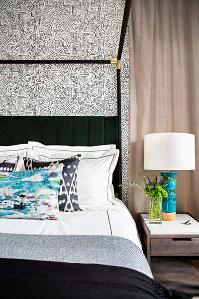 Bachelor Pad Bedroom. West Hollywood  by Peti Lau Inc.