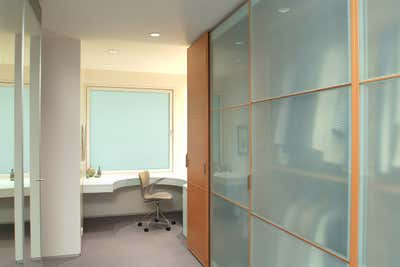 Modern Storage Room and Closet. COURTYARD HOUSE by Christine A.L. Restaino Architect P.C..