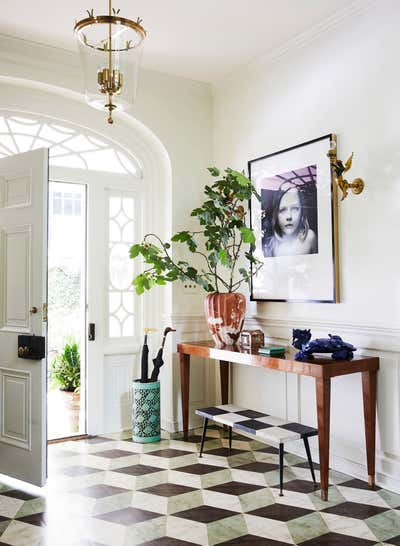 Art Deco Family Home Entry and Hall. Anne Boone House by Ceara Donnelley Ltd. Co..