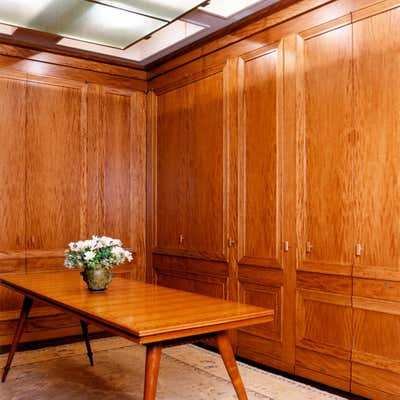 Art Deco Storage Room and Closet. Upper east side duplex by M Group.
