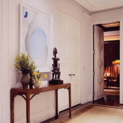 Art Deco Family Home Entry and Hall. Upper east side duplex by M Group.