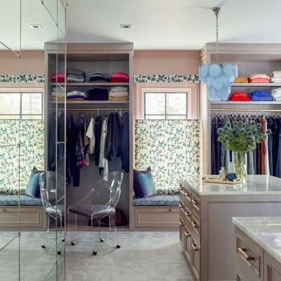 Maximalist Storage Room and Closet. Maximalist Westchester Interior Design  by Kati Curtis Design.