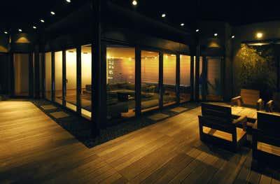 Contemporary Patio and Deck. BUCHAREST DUPLEX APARTMENT by Christine A.L. Restaino Architect P.C..