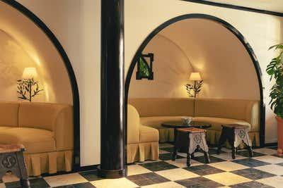 Mediterranean Lobby and Reception. La Ponche by Fabrizio Casiraghi.