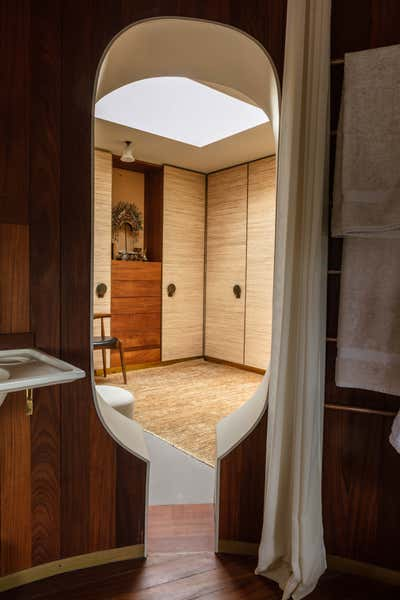 Bohemian Storage Room and Closet. Rooftop Home, Marylebone by Retrouvius.