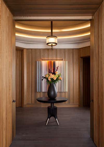 Hotel Lobby and Reception. Cypress Lounge by Cravotta Interiors.