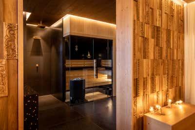 Transitional Hotel Open Plan. Zlata Vila Spa  by Design Studio.