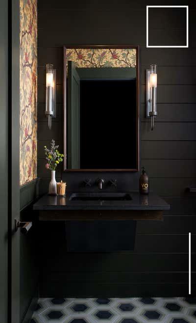 Hotel Bathroom. Cypress Lounge by Cravotta Interiors.