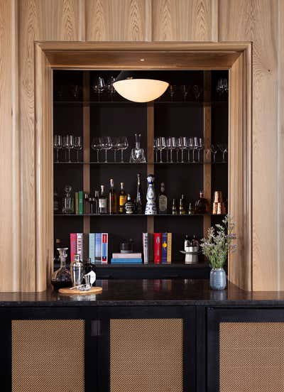 Hotel Bar and Game Room. Cypress Lounge by Cravotta Interiors.
