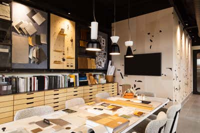 Office Workspace. Iconic Office by Iconic Design + Build.