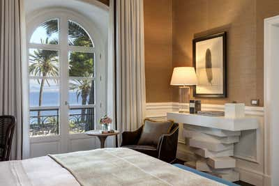 Hotel Bedroom. Villa Igiea  by Nicholas Haslam LTD.