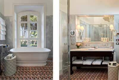 Hotel Bathroom. Villa Igiea  by Nicholas Haslam LTD.