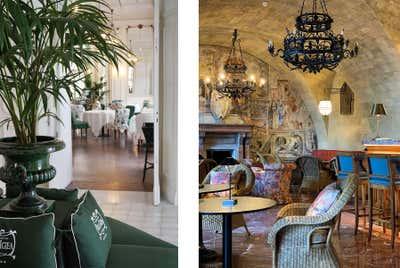 Hotel Dining Room. Villa Igiea  by Nicholas Haslam LTD.