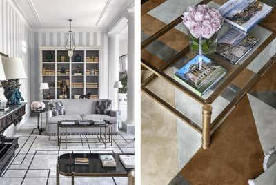 Mediterranean Lobby and Reception. Villa Igiea  by Nicholas Haslam LTD.
