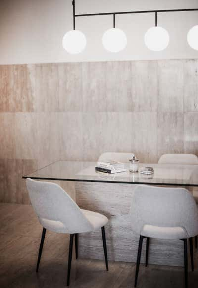 Minimalist Meeting Room. NJCS by Nebras Aljoaib Design.