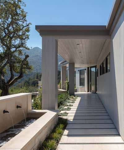Contemporary Patio and Deck. Kentfield Residence by Martin Kobus Inc..