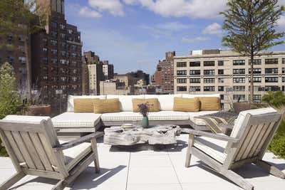 Contemporary Patio and Deck. West Village by Tamzin Greenhill.