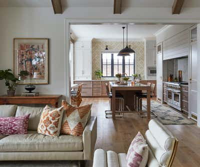 Transitional Family Home Open Plan. Valley Lo by KitchenLab | Rebekah Zaveloff Interiors.