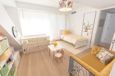 Modern Children's Room. CHELSEA DUPLEX by Marie Burgos Design.