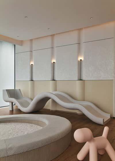 Contemporary Children's Room. Fatansia Sales Center by Chris Shao Studio LLC.