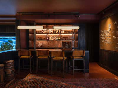 Western Bar and Game Room. Mountain House by Hammer and Spear.