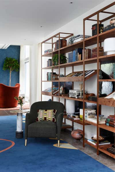 Contemporary Workspace. A South London Home With South African Flare by Studio Ashby.