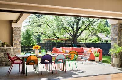 Modern Patio and Deck. Glencoe by Emily Tucker Design, Inc..