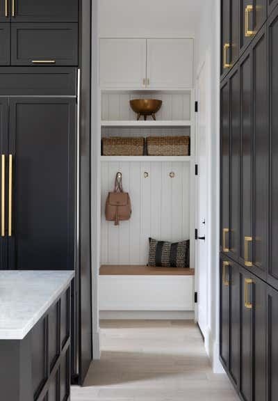 Transitional Family Home Open Plan. Modern Glam by Nuela Designs.